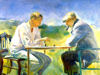 Alice Kent Stoddard - The Chess Game