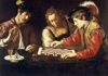 Caravaggio - Chess Players