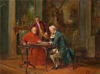 August Hermann Knoop - Playing Chess