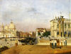 Ippolito Caffi - The Molo towards OUest